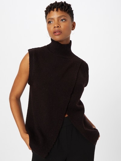 Kaffe Sweater 'Taris' in Black, View model