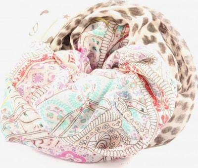 CODELLO Rundschal in One Size in türkis / braun / pink, Produktansicht