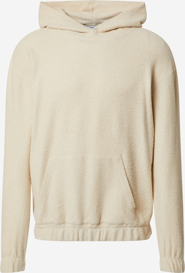 DAN FOX APPAREL Sweat-shirt 'Mirco' en beige, Vue avec produit
