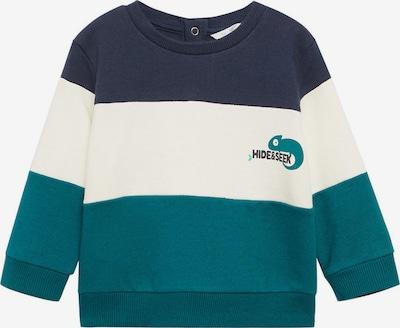 MANGO KIDS Sweatshirt in navy / petrol / weiß, Produktansicht