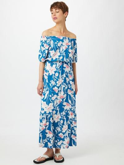 ESPRIT Kleid in beige / himmelblau / altrosa, Modelansicht