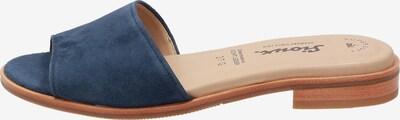 SIOUX Pantolette ' Cosinda-700 ' in dunkelblau / hellbraun, Produktansicht