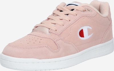 Champion Authentic Athletic Apparel Sneakers laag in de kleur Rosa / Rood / Wit, Productweergave