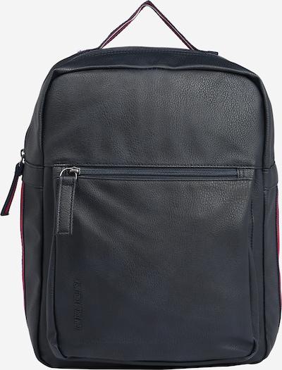 TOM TAILOR Rucksack in dunkelblau / rot / weiß, Produktansicht