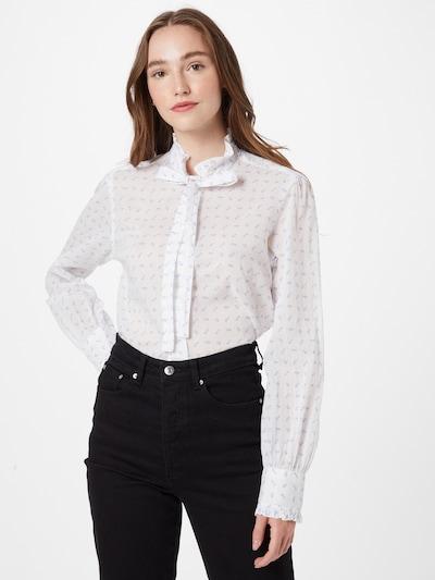 POLO RALPH LAUREN Bluse 'ANGA' in blau / weiß, Modelansicht