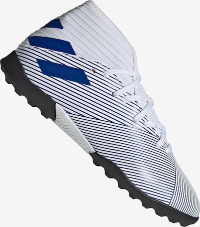 ADIDAS PERFORMANCE Fußballschuh in nachtblau / weiß: Frontalansicht