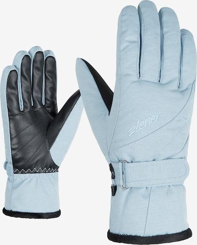 ZIENER Skihandschuhe 'KILENI PR lady glove' in hellblau, Produktansicht