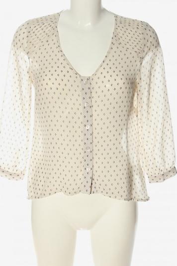 Pins and Needles Hemd-Bluse in S in creme / schwarz, Produktansicht