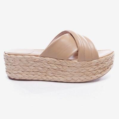 Stuart Weitzman Sandaletten in 40 in beige, Produktansicht