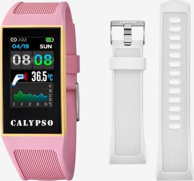 CALYPSO WATCHES Digitaluhr in pink / schwarz / weiß, Produktansicht