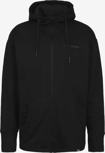 UNDER ARMOUR Kapuzenjacke in schwarz, Produktansicht