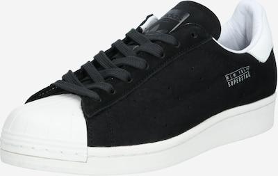 ADIDAS ORIGINALS Zemie brīvā laika apavi 'Superstar', krāsa - melns / gandrīz balts, Preces skats