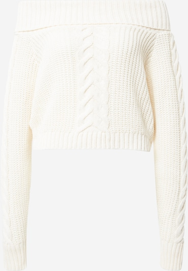 Missguided Pullover 'Bardot' in creme, Produktansicht