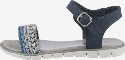 INDIGO Sandale in rauchblau, Produktansicht