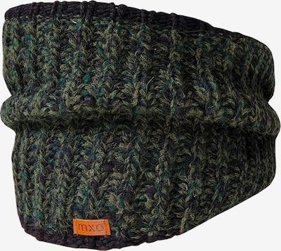 Sciarpa MAXIMO di colore oliva / verde erba / nero, Visualizzazione prodotti
