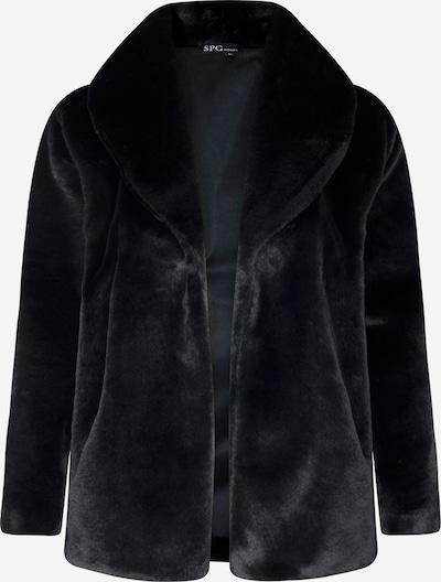 SPGWOMAN Winter Coat in Black, Item view