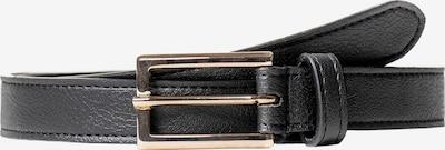 Noani Gürtel in gold / schwarz, Produktansicht