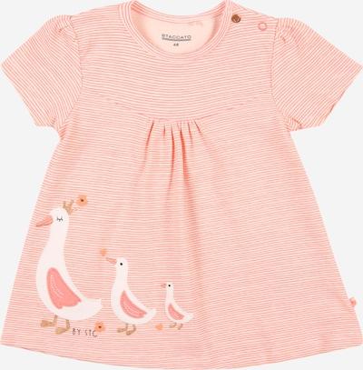 STACCATO Camiseta en coral / blanco, Vista del producto