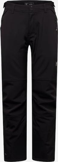 BRUNOTTI Outdoorhose 'Huygens' in schwarz / weiß, Produktansicht
