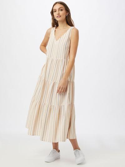 ESPRIT Kleid 'BCI' in beige / blau / weiß, Modelansicht
