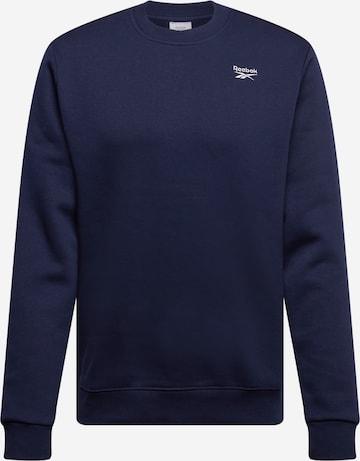 Reebok Sport Sport sweatshirt i blå