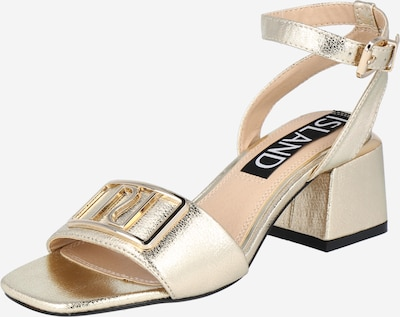 River Island Sandale in gold, Produktansicht