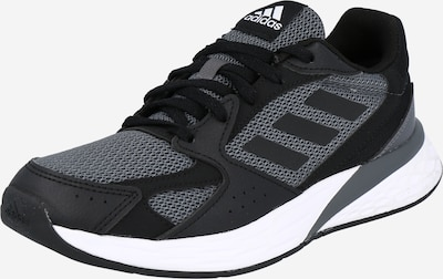 ADIDAS PERFORMANCE Running shoe in Grey / Green / Black, Item view