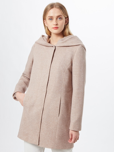 VERO MODA Between-seasons coat 'Vero Dona' in taupe, View model