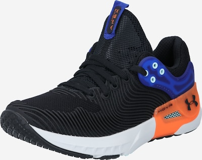 UNDER ARMOUR Sportschuh 'Apex 2' in royalblau / neonorange / schwarz, Produktansicht