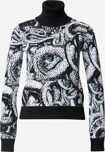 Just Cavalli Trui in de kleur Zwart / Wit, Productweergave