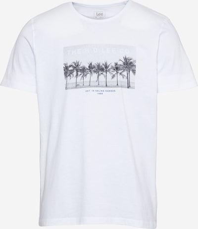 Lee T-Shirt in mischfarben / weiß, Produktansicht