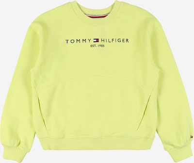 TOMMY HILFIGER Sweatshirt in zitrone, Produktansicht
