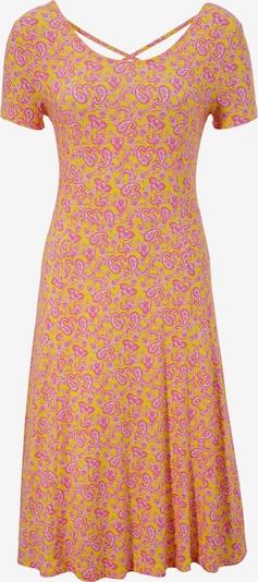 Aniston SELECTED Sommerkleid in gelb / pink / weiß, Produktansicht
