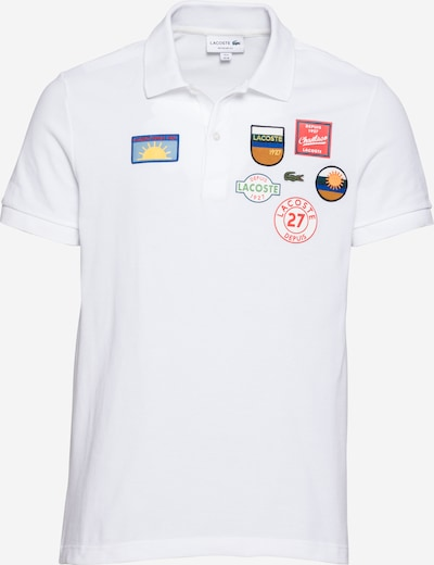 LACOSTE T-Shirt en mélange de couleurs / blanc, Vue avec produit