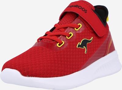 KangaROOS Sneaker in gelb / rot / schwarz, Produktansicht