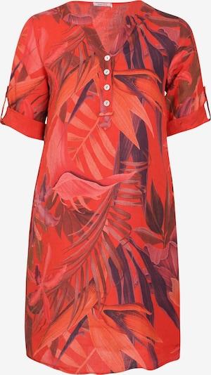 Paprika Kleid in feuerrot, Produktansicht