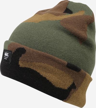 VANS Gorra en beige claro / marrón / verde oscuro / negro, Vista del producto