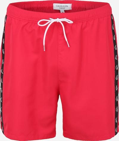 Calvin Klein Swimwear Shorts de bain en rose foncé / noir / blanc, Vue avec produit