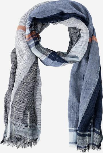 CAMEL ACTIVE Schal in navy / grau / orange, Produktansicht