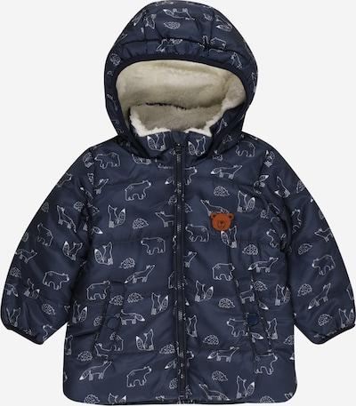 STACCATO Winterjas in de kleur Donkerblauw / Wit, Productweergave