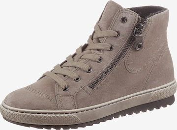 GABOR Lace-Up Ankle Boots in Grey