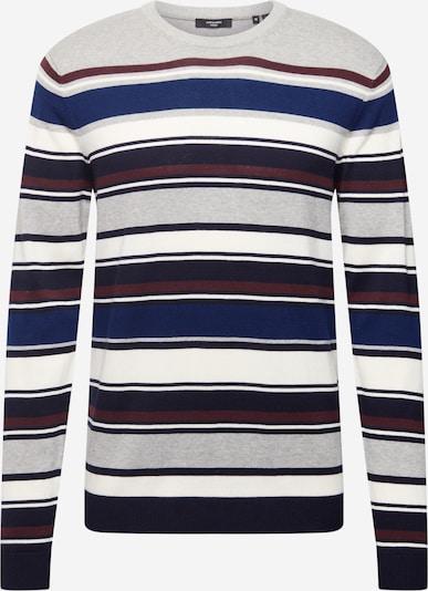 JACK & JONES Trui 'MILANO' in de kleur Royal blue/koningsblauw / Donkerblauw / Pueblo / Lichtgrijs / Wit, Productweergave