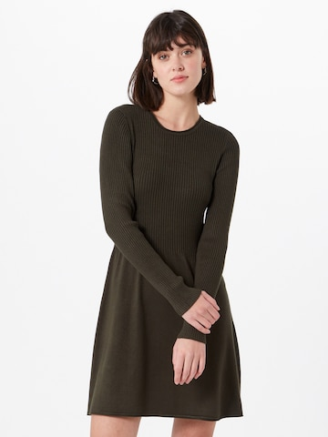 ONLY Pletené šaty 'Alma' - Hnedá
