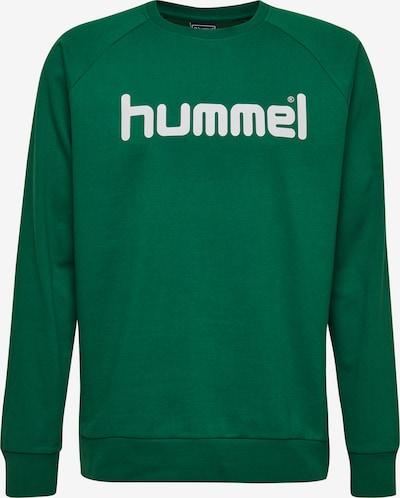 Hummel Sweatshirt in grün / weiß, Produktansicht
