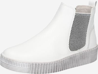GABOR Chelsea Boots in dunkelgrau / weiß, Produktansicht