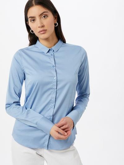 MOS MOSH Bluse 'Tilda' in rauchblau, Modelansicht