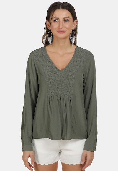 usha FESTIVAL Bluse in grün, Modelansicht