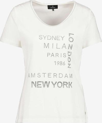 monari Shirt in schwarz / offwhite, Produktansicht
