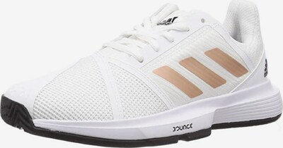 ADIDAS PERFORMANCE Sportschuh ' Courtjam Bounce W ' in gold / weiß, Produktansicht