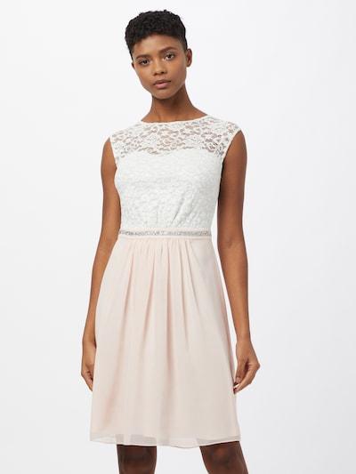 SWING Cocktailkleid in rosa / weiß, Modelansicht